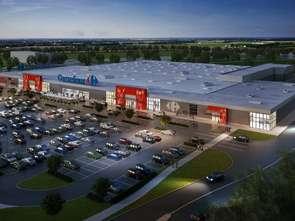 Carrefour rozbuduje Galerię Słowiańską