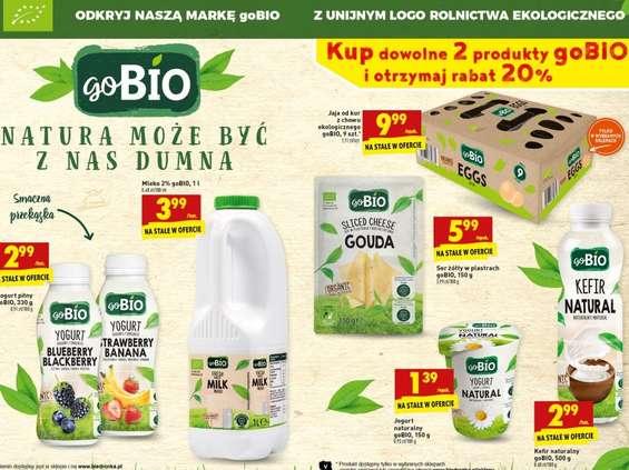 Biedronka promuje żywność ekologiczną