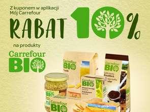 Carrefour daje zniżki na produkty bio
