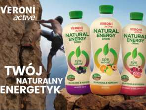 Kampania Veroni active Natural Energy Drink