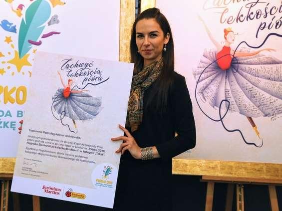 """Jest pierwsza lauretka w konkursie Biedronki """"Piórko 2018"""""""