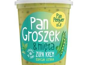 Pan Pomidor & Co. Pan Groszek & Mięta