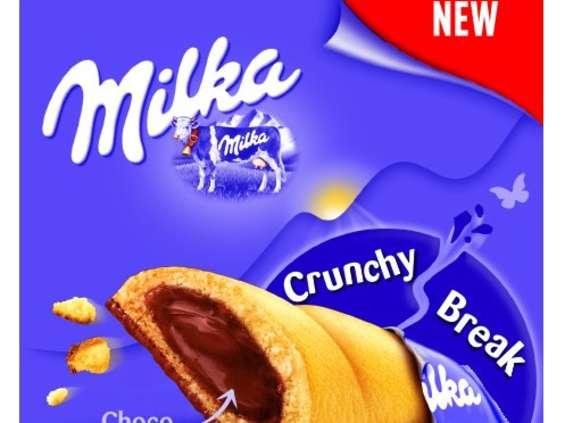 Mondelez Polska. Milka Crunchy Break
