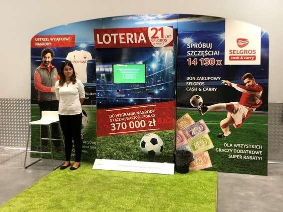Wielka loteria jubileuszowa w Selgrosie