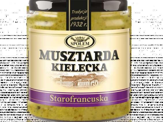 WSP Społem Kielce. Musztarda Kielecka starofrancuska