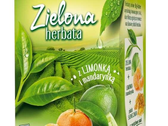 Herbapol-Lublin. Herbaty zielone Big-Active