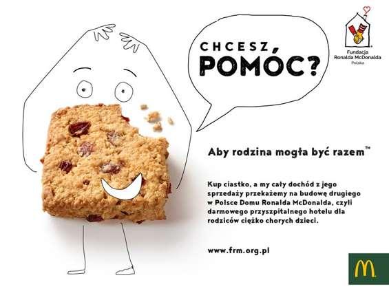 McDonald's wspiera poprzez ciasteczko