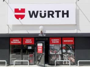 Würth otwiera w Polsce kolejne sklepy