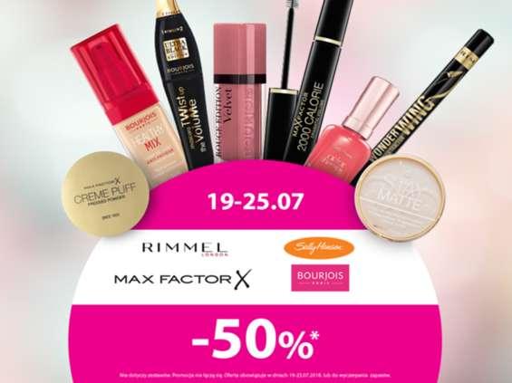 Kosmetyki w Hebe do -50 proc.