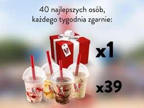 KFC promuje Shake'y grą na Messengera