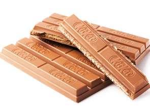 Kształt KitKata bez ochrony