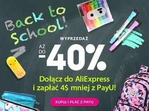 Wyprawka szkolna z ... chinskiej platformy AliExpress