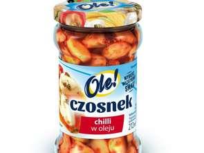 Okechamp. Czosnek chili w oleju Ole!