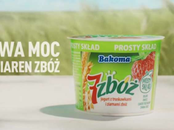 Bakoma 7 zbóż z kampanią w telewizji