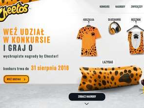 Cheetos rozdaje modne nagrody