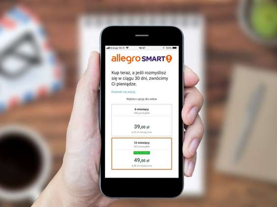 Allegro Smart! kupiony ponad 100 tys. razy w ciągu tygodnia od startu