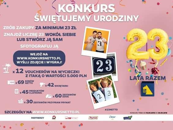 23. urodziny Netto w Polsce