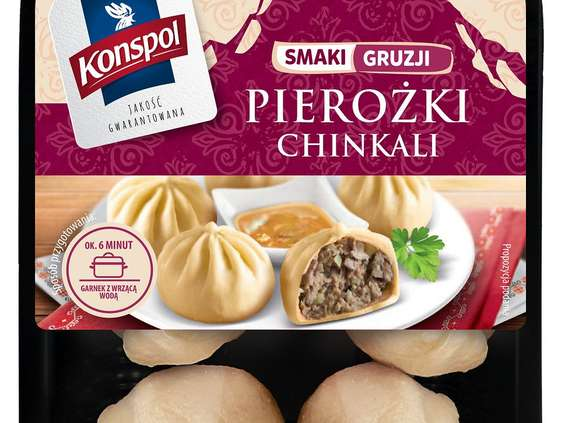 Konspol. Pierożki Chinkali