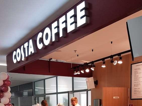 Costa Coffee na krakowskim lotnisku