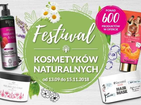 Festiwal Kosmetyków Naturalnych ponownie w Hebe