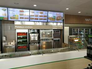 Subway na stacji Lukoil