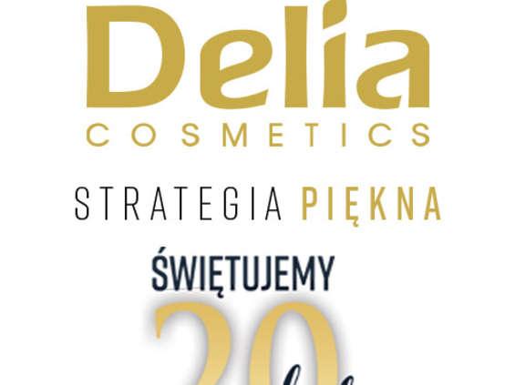Delia Cosmetics kończy 20 lat