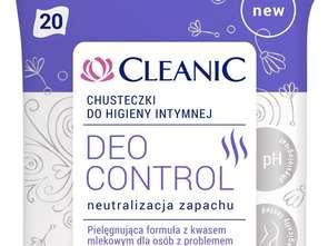 Harper Hygienics. Chusteczki do higieny intymnej Cleanic