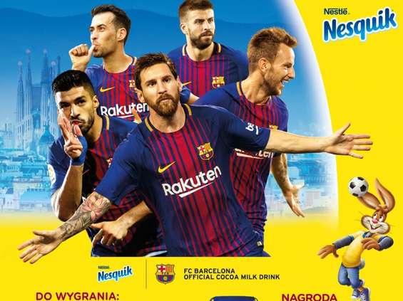 Nesquik łączy siły z FC Barcelona