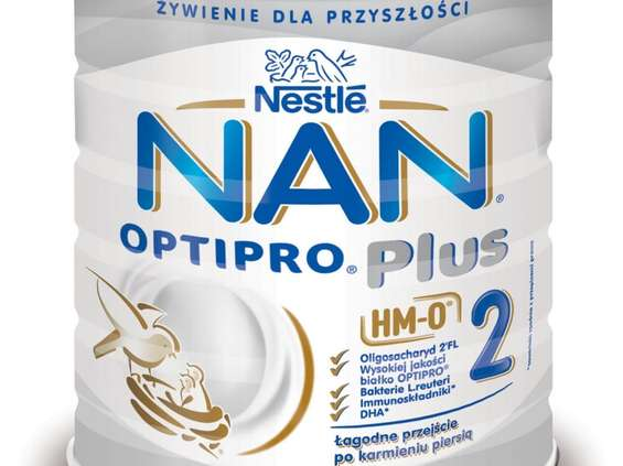Nestlé Polska. Nan Optipro Plus 2 HM-O