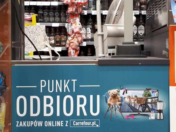 Carrefour rozszerza usługę click&collect