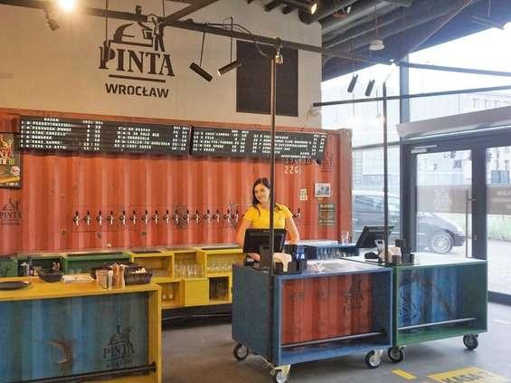 Browar Pinta otwiera pub