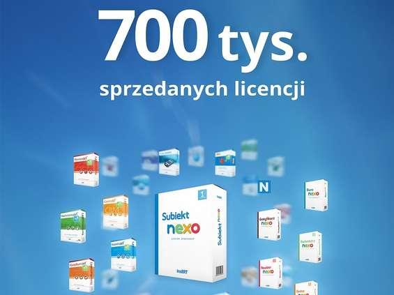 InsERT sprzedał 700 tys. licencji własnych programów