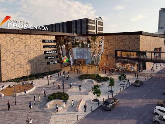 Nowa strefa food court w Atrium Promenada