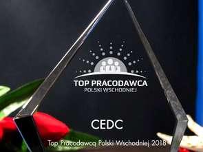 CEDC z tytułem TOP Pracodawcy Polski Wschodniej 2018