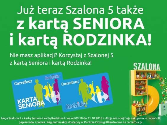 """""""Szalona 5"""" powraca do Carrefoura"""
