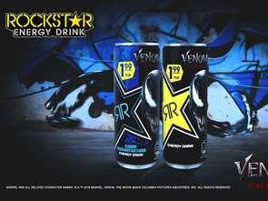 Mroczny Rockstar Energy Drink