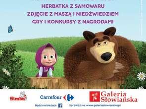 Masza i niedźwiedź w Galerii Słowiańskiej
