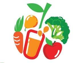 """""""5 porcji warzyw, owoców lub soku"""""""