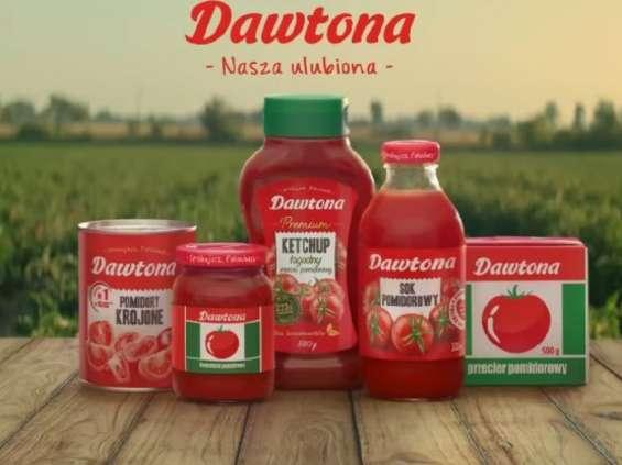 Dawtona promuje produkty z pomidorów