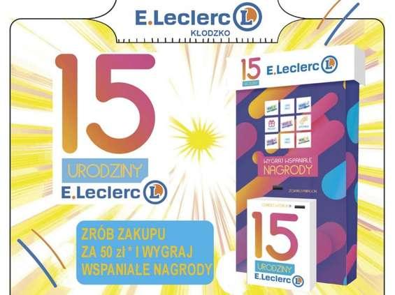 E.Leclerc w Kłodzku świętuje 15. urodziny