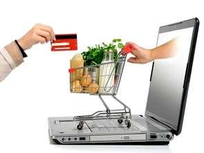 Sprzedaż FMCG online rośnie czterokrotnie szybciej niż stacjonarnych