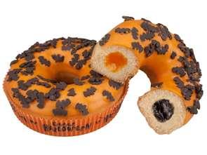 Halloweenowy donut w Żabce