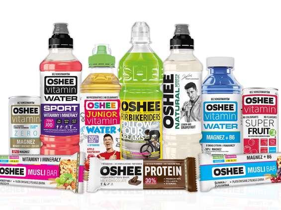 Oshee obniża zawartość cukru