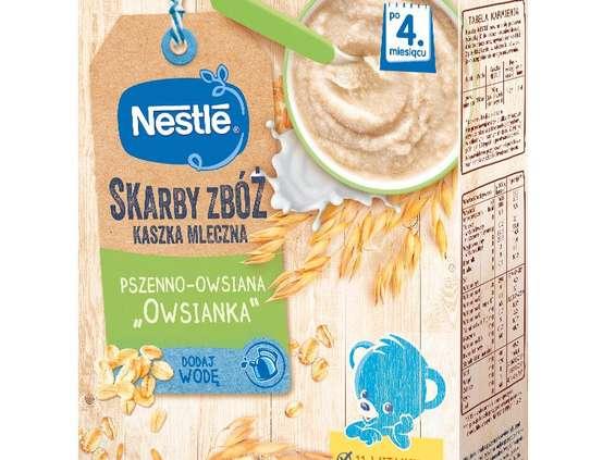 Nestlé Polska. Kaszki Skarby Zbóż