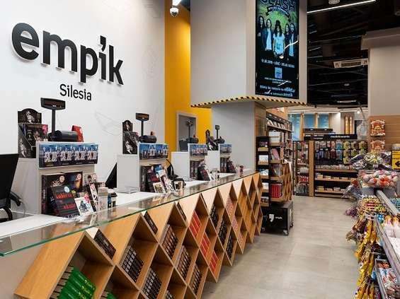 Empik w Katowicach - nowy i po nowemu