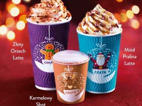 Costa Coffee gotowa do świąt