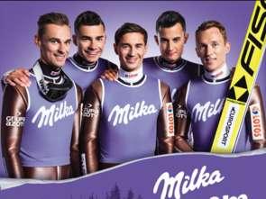 Milka sponsorem skoczków narciarskich