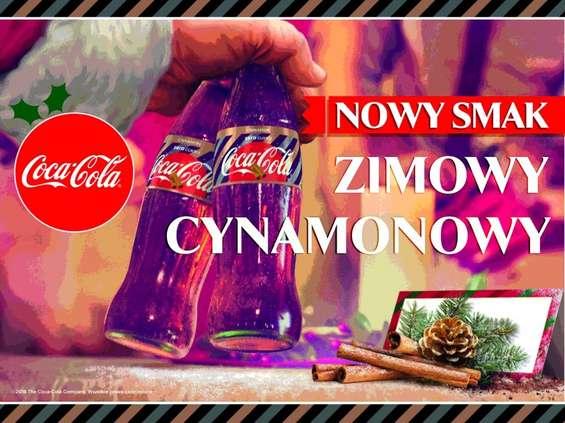 Coca-Cola. Coca-Cola o smaku cynamonowym
