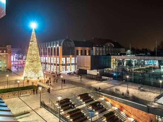 Forum Gdańsk rozbłysło na święta