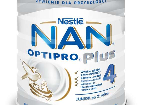 Nestlé Polska. Nan Optipro Plus 4